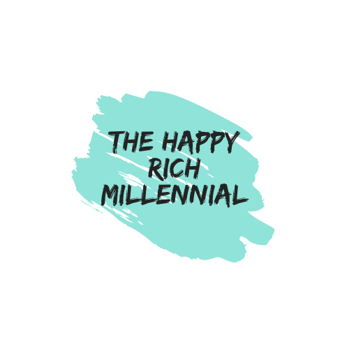 happy rich millennial